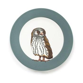 Faunus Plate, 23cm, Owl