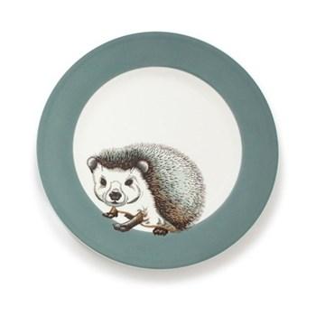 Faunus Plate, 23cm, Hedgehog