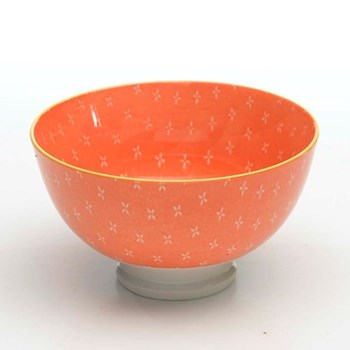 Tue Set of 6 small bowls, 11.5cm, orange