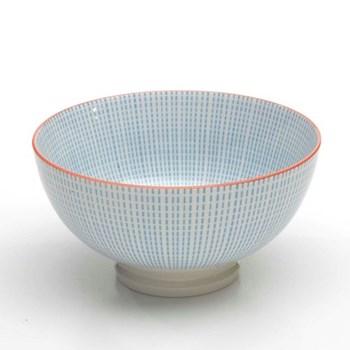 Tue Set of 6 medium bowls, 15.2cm, turquoise