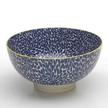 Tue Set of 6 large bowls, 20.3cm, blue