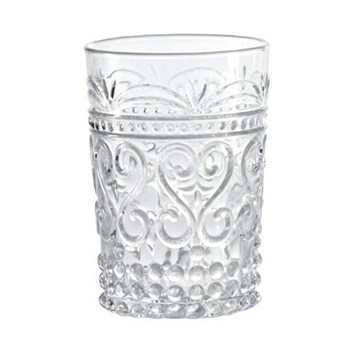 Provenzale Set of 6 straight sided tumblers, 27cl, clear
