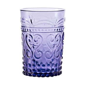 Provenzale Set of 6 straight sided tumblers, 27cl, amethyst