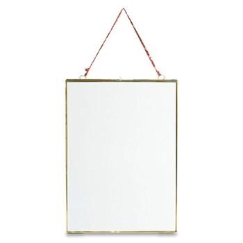 "Kiko Hanging frame - portrait, 8 x 10"", antique brass"