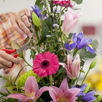 Flower arranging classes fund