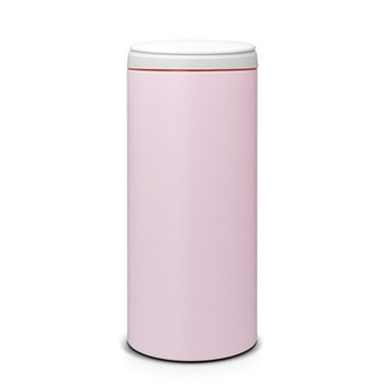 Flipbin, 30 litre - H68.5 x D29cm, mineral pink with light grey lid