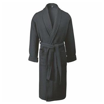 Viggo Bath gown, medium, dark grey