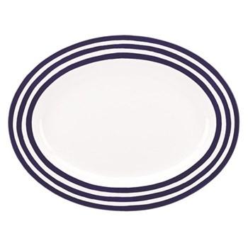 Charlotte Street Oval platter, 40.6cm