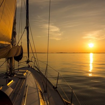 Sunset cruise for two