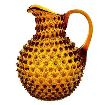 Bobble Jug, 2 litre, amber