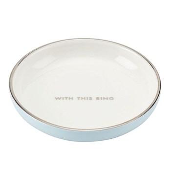 Take the Cake Ring dish, 9.1cm, white