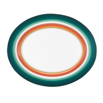 Zig Zag Oval platter, 33cm