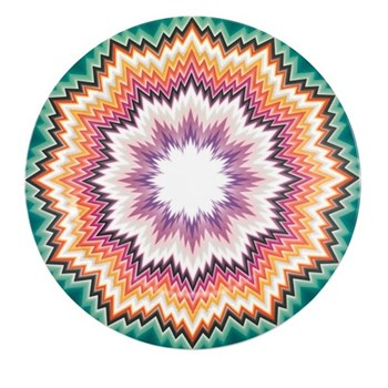 Zig Zag Charger plate, 33cm