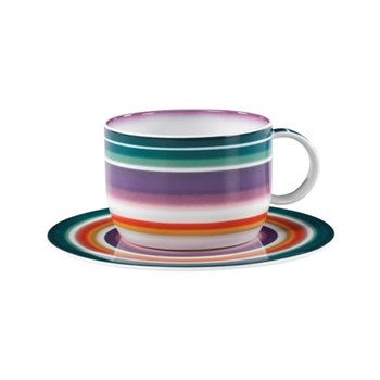 Zig Zag Teacup and saucer