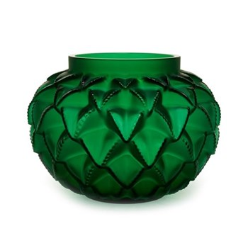 Languedoc Vase, 12cm, green