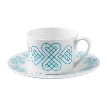 Signature Collection Teacup and saucer, 24cl