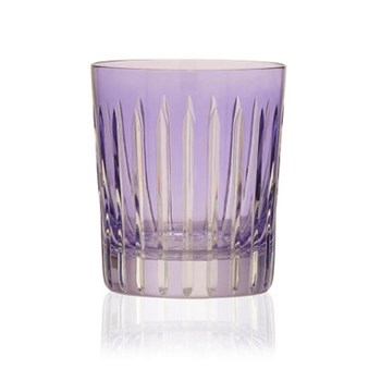 Shining Star Pair of double old fashioned tumblers, 28cl, lavender