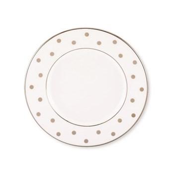 Larabee Road Dinner plate, platinum