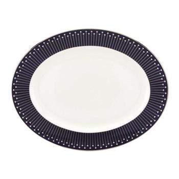 Mercer Drive Oval platter, 33cm