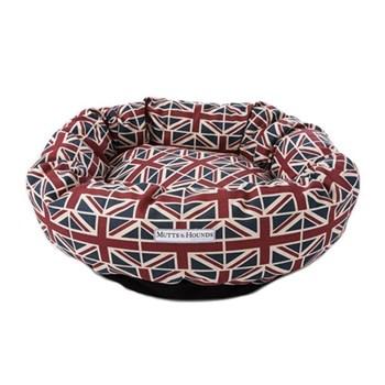 Union Jack Donut bed, medium, 61cm