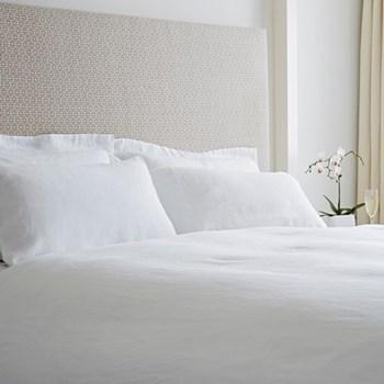 Single duvet cover, 140 x 200cm, white