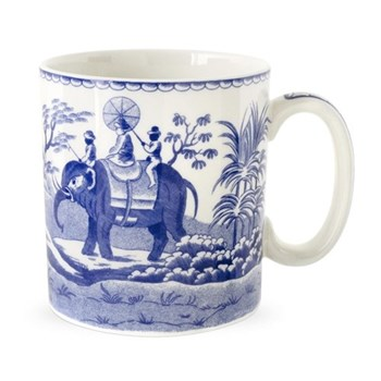 Blue Room Mug- Indian sporting, 25cl