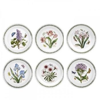 Botanic Garden Set of 6 dessert plates, 20cm