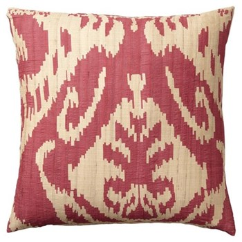 Palau Silk cushion cover, 51 x 51cm, red