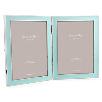 """Double photograph frame 5 x 7"""" with 15mm border"""