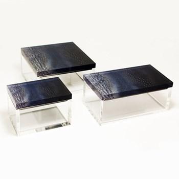 Trinket box L14.5 x W8 x H6.5cm