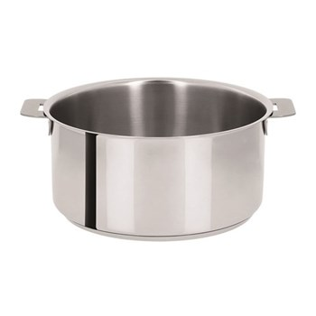 Stewpan without handles D22cm - 3.9 litre