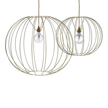 Bubble Gold Pendant lamp, 60cm