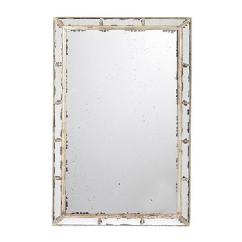 Versailles Mirror, W90 x H140cm, distressed metal frame