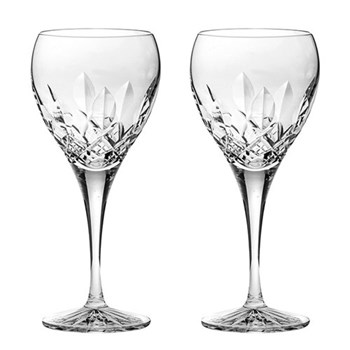 Westminster Pair of large wine glasses, 21cm