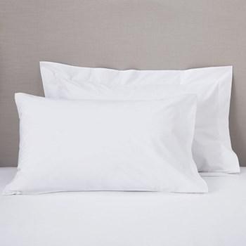 200 Thread Count Egyptian Cotton Oxford pillowcase, 50 x 75cm, white
