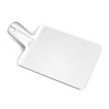Chop2pot Small folding chopping board, 22 x 26cm, white