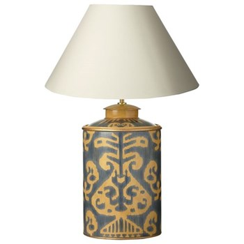 Lakor Table lamp base only, 40cm, blue