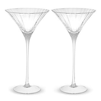 Aurelia Pair of cocktail glasses, 27.5cl, clear optic