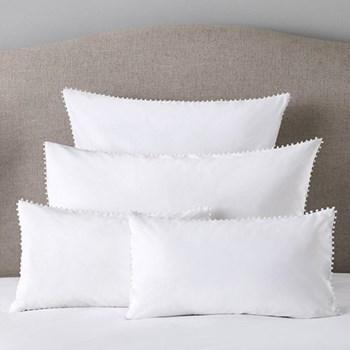 Avignon - 200 Thread Count Housewife pillowcase, 50 x 75cm, white
