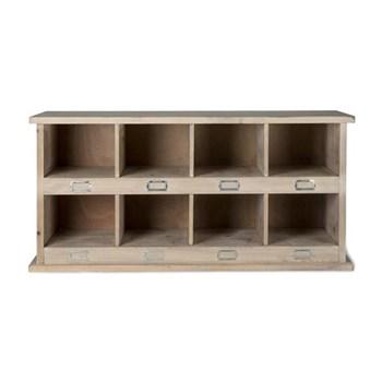 Chedwoth 8 Shoe Locker, H46 x W97 x D35cm, wood