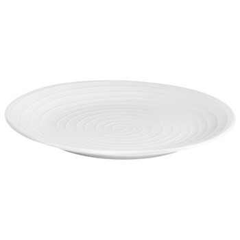 Blond Dinner plate, 28cm, white stripe