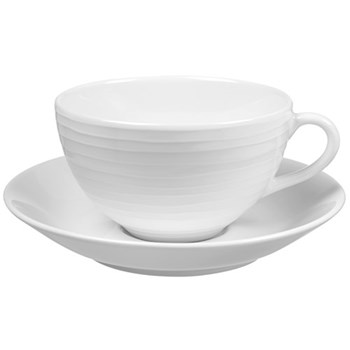 Blond - Stripes Cup and saucer, 30cl