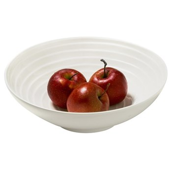 Blond - Stripe Inner Side Salad bowl, 30cm, white inside stripe