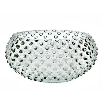 Bobble Low bowl, D23cm, clear
