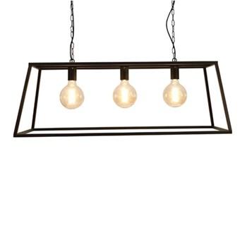 Triple trapeze chandelier frame 36 x 100 x 36cm