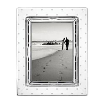 "Larabee Dot Photograph frame, 5 x 7"", crystal"