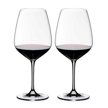 Heart to Heart Pair of cabernet/savignon glasses, H24.7 x D10.4cm - 80cl