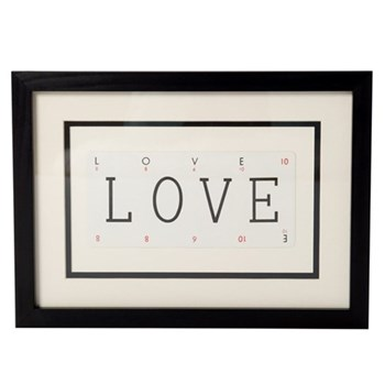 LOVE Small frame, 40 x 30cm