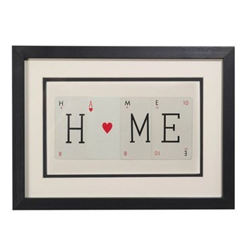 HOME (WITH HEART) Small frame, 40 x 30cm