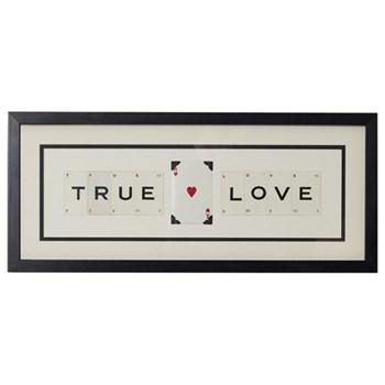 TRUE (HEART) LOVE Medium frame, 51 x 20cm